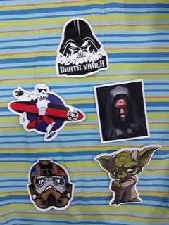 Star Wars Waterproof Stickers