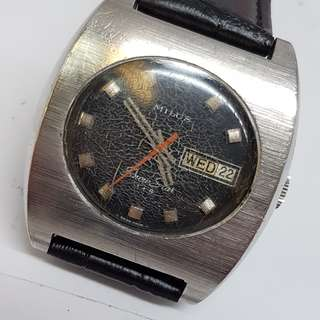 Milus Snow Star 1+4 Vintage Watch