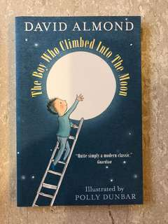 David Almond - the boy who climbed into the moon