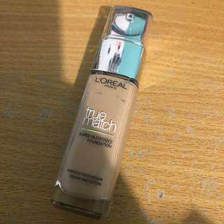 L'Oréal true match foundation