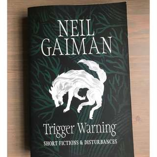 [Paperback] Trigger Warning by Neil Gaiman