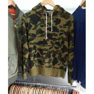 Bape camo hoodie
