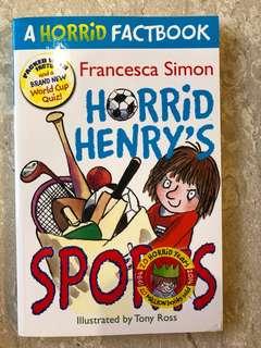 Horrid Henry's Sports - Francesca Simon