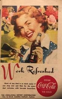 Vintage 1950s Coca-Cola Ad