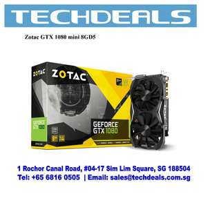 ZOTAC GeForce® GTX 1080 Mini Graphic Card