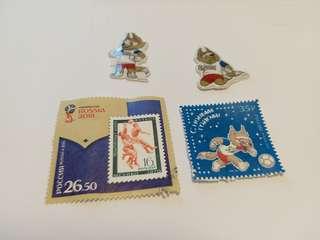 RUSSIA 2018 世界盃郵票