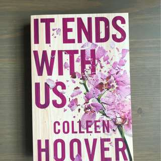 [Paperback] It Ends with Us by Colleen Hoover