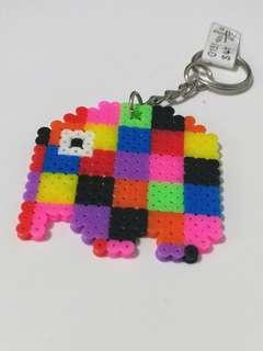 Elmer Elephant Keychain