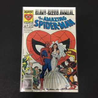 Amazing Spider-Man Annual 21 Marvel Comics Book Stan Lee Movie Avengers Spiderman