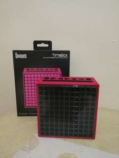 Divoom Timebox Smart Music Clock (Pink)