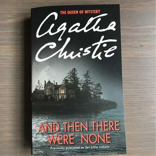 [Paperback] And Then There Were None by Agatha Christie