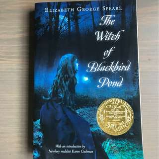 [Paperback] The Witch of Blackbird Pond Novel by Elizabeth George Speare