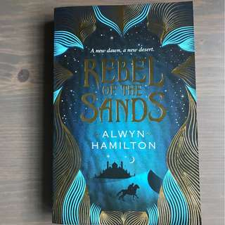 [Paperback] Rebel of the Sands Novel by Alwyn Hamilton