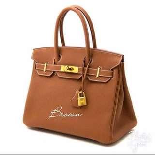 Birkin Bag Inspired