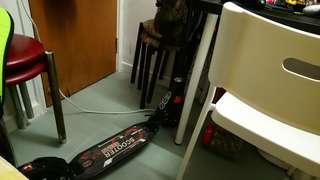 成人滑板車(有手剎)(可摺)(有避震器)