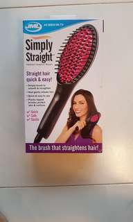 Simply Straight Heated Ceramic Brush