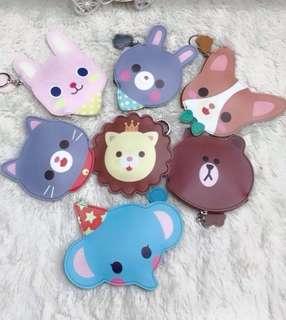 Cute animal wallets