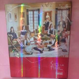 Twice專輯(包括碟、小卡、閃卡)
