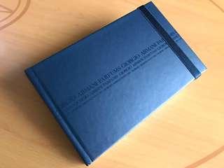 Armani Notebook / Drawing book