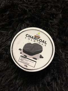 Charcoal cold wax
