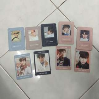WTT/WTS Wanna One photocard and magnet card
