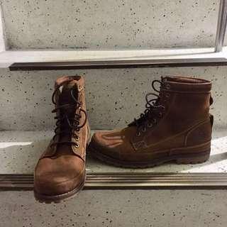 🚚 Timberland男性高筒鞋