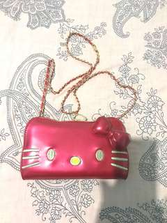 Hello Kitty Wallet plus bag
