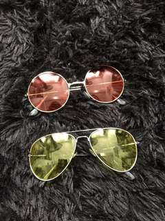 120 PHP for both sunnies or 55 PHP each