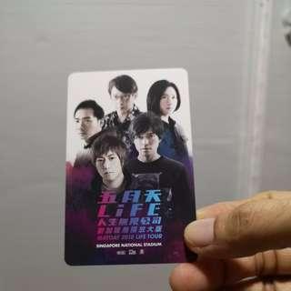 Mayday Ezlink Card (Singapore edition)