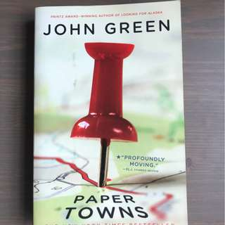 [Paperback] Paper Towns Novel by John Green