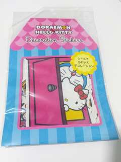 Doraemon X Hello Kitty Decoration Stickers