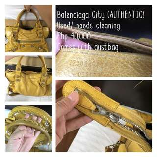 Authentic Balenciaga City
