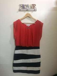 Korean Twofer Dress