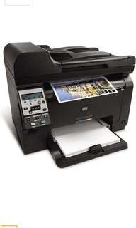 HP LaserJet Pro 100 color MFP M175nw - multifunction printer ( color ) Series