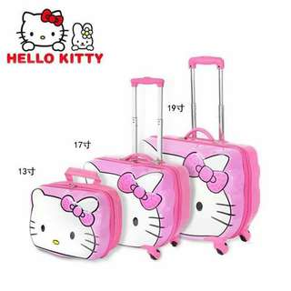 3in1 Hello Kitty trolley bag