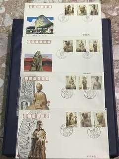 China Stamp- 1997-9 A/B FDC