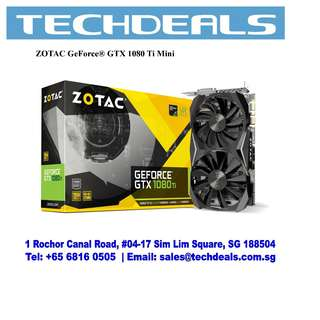ZOTAC GeForce® GTX 1080 Ti Mini Graphic Card