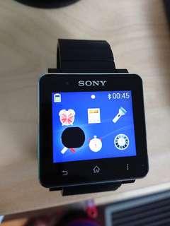 [需維修] SONY SmartWatch 2 SW2 黑色不鏽鋼金屬錶帶