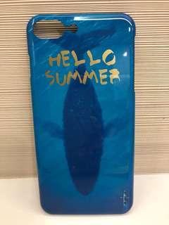 全新iPhone7/8plus小清新藍鯨手機殼送屏幕保護貼