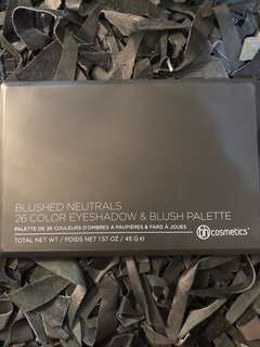 BH Cosmetics Blushed Neutrals Pallete