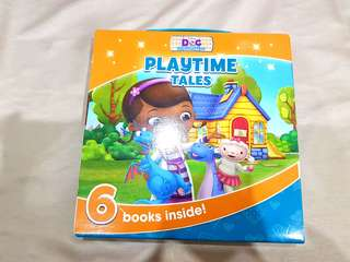 Children Storybooks - DOC McStuffins Playtime Tales