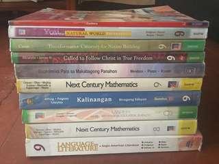 Grade 9 Textbooks (K-12 Curriculum Compliant)