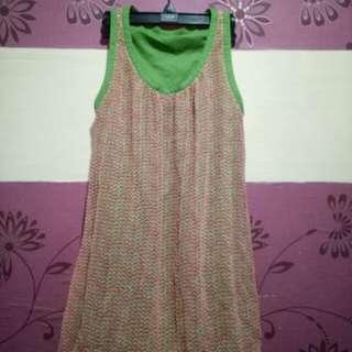 Reversable Long Top/Dress for Woman(Size M-L)