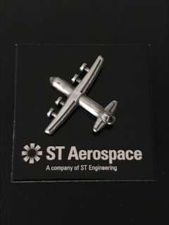 ✈️ Aerospace Aeroplane Collar Pin Badge