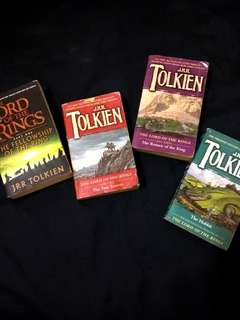 The Lord of The Rings series by J.R.R Tolkien