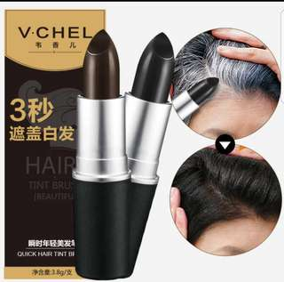 FREE POSTAGE 3 Seconds Magic Hair Tint Black or Brown (Covers white and Grey Hair Not hair dye)