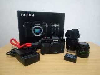 Fujifilm XT10 with dual lens + Bonus
