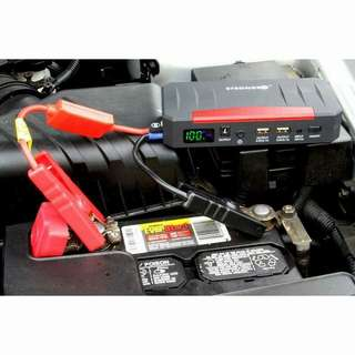 Jumpstarter and compressor pump