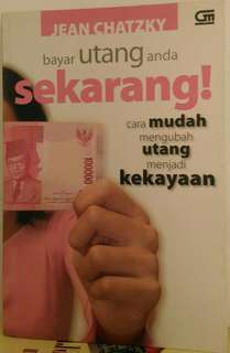 Buku : Bayar hutang anda sekarang !