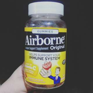 Airborne Vitamins d'original (42 gummies)